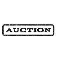 Auction watermark stamp vector