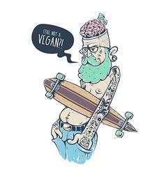 Bizarre Hipster Art vector