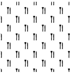 brush pencil pattern seamless vector image