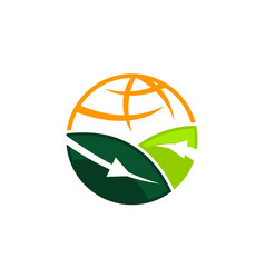 global farm and garden vector image