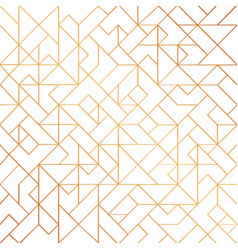 Golden art deco seamless pattern background with vector