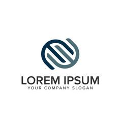 Letter e logo business finance design concept vector