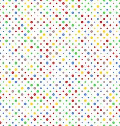 pattern vibrant dots vector image
