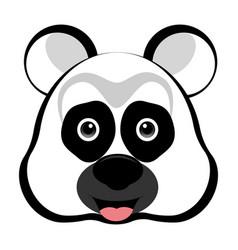 avatar of a panda vector image vector image