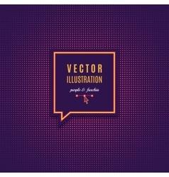 Purple fuschia abstract light background Magenta vector image vector image