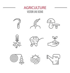 Agricultural Icons vector