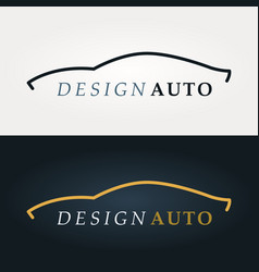 Business logo design work vector