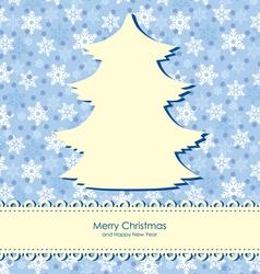Christmas backgr snow vector