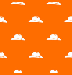 cowboy hat pattern seamless vector image