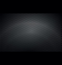 Dark metal texture background vector