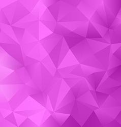 Magenta irregular triangle pattern background vector