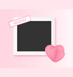 picture of the couple memory photo frame with vector image