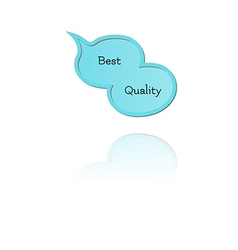 speak bubble with best quality vector image