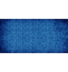 Blue abstract mosaic background vector image vector image