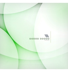 Green blur abstract background vector image
