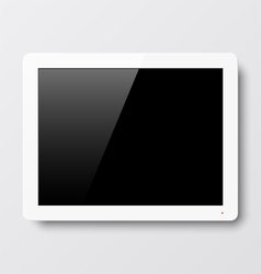 Interactive touch screen vector image