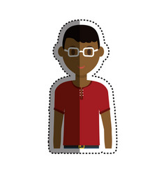 Man cartoon isolated vector