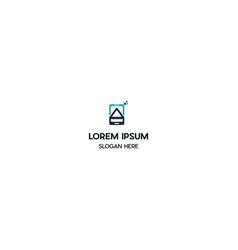 Phone labs creative logo design vector