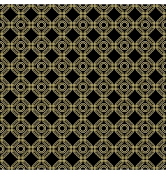 Seamless Abstract Pattern With Octagons vector image