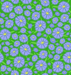 Seamless texture of the flowers vector image vector image