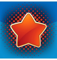 abstract star web and print template eps 8 vector image