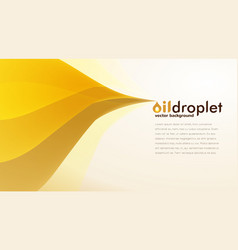 oil droplet background vector image