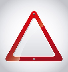 safety signal vector image