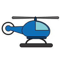 helicopter transport fly image vector image vector image