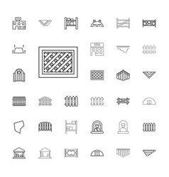 33 country icons vector
