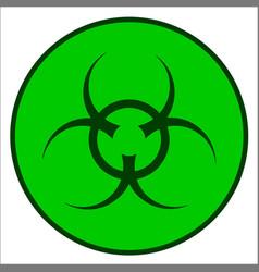 Bio hazard symbol vector