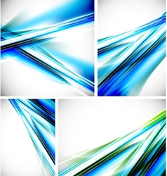 blue line backgrounds vector image