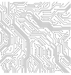 circuit computer motherboard microchip vector image
