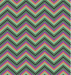 Colorful zig zag stripe pattern background design vector image