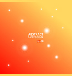 orangeyellow abstract background vector image