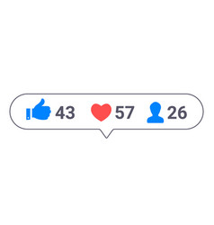 Set social media icons inspired instagram vector