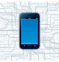 Communicator Technology vector image vector image
