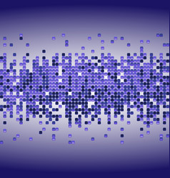 shiny background with purple sequins vector image