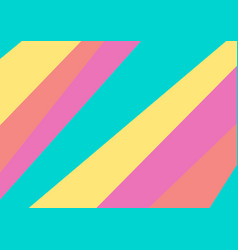 Abstract colourful pastel stripes minimal vector