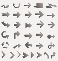 Arrow Icons and Signs vector