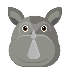 avatar of a rhino vector image