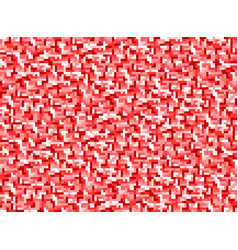 background in style pixel red vector image