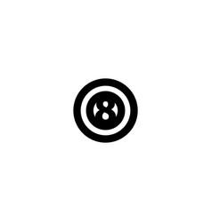 billiard stones icon symbol sign vector image