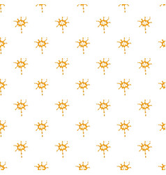 Large drops of honey pattern vector