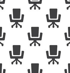 Office chair seamless pattern vector image
