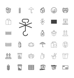 Pack icons vector
