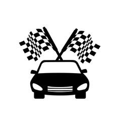 repair car service emblem vector image