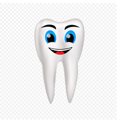 Smile healthy tooth vector