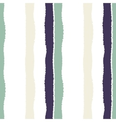 Striped seamless pattern Vertical wide lines with vector