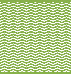 greenery and white zigzag seamless pattern vector image vector image