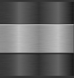 metal backgrounds 3d vector image